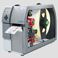CAB XC4 Thermotransferdrucker der GHS Etikettendrucker für 2 Farben