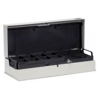 Anker Klappdeckel Kassenlade, Universal Cash Cassette (UCC), Kit, anthrazit inkl. RJ12 Anschluß für Kassendrucker