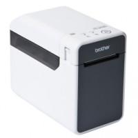 Etikettendrucker Brother TD-2020, 8 Punkte/mm (203dpi), ZPL, USB, RS232 für 63mm breite Etiketten