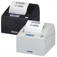 Kompakter Thermodrucker für breite Bons bis 112mm  Citizen CT-S4000, USB, Cutter, schwarz
