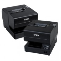 Epson TM-J7200, USB, Ethernet, Cutter, schwarz Tintenstrahldrucker für Bons und Belege