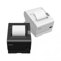 Leistungsstarker Thermodrucker Epson TM-T88VI, USB, RS232, Ethernet, schwarz, ESC/POS, ePOS