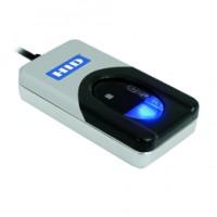HID Fingerabdruck-Leser, DigitalPersona 4500, Bulk, USB, keine Beschichtung, optisch, Auflösung: 512 dpi, 256 Graustufen, Gewicht: 0,105 kg, separat bestellen: SDK (Software Development Kit)