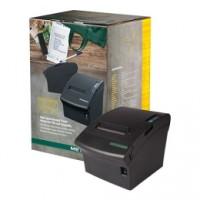 Professioneller und bewährter Kassendrucker Metapace T-3, USB, Cutter, schwarz