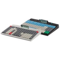 Programmierbare Tastatur mit 128 Tasten PrehKeyTec MCI 128, Num., USB, PS/2, weiß