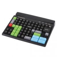 Frei programmierbare Kassentastatur PrehKeyTec MCI 84, Num., USB, schwarz