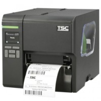 Industrie Thermo-Etikettendrucker: TSC ML340P WLAN ready, 12 Punkte/mm (300dpi), Disp. (Farbe), RTC, USB, RS232, Ethernet