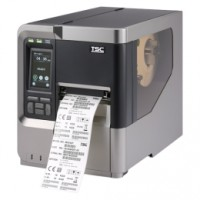 TSC MX340P Industrie-Thermoetikettendrucker, 12 Punkte/mm (300dpi), Rewind, Disp., TSPL-EZ, USB, RS232, Ethernet