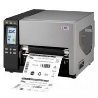 Hochauflösender Industrie-Thermodrucker für 241mm breite Etiketten, TSC TTP-384MT, 12 Punkte/mm (300dpi), RTC, Display, TSPL-EZ, USB, RS232, LPT, Ethernet