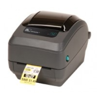 Schneller zuverlässiger Thermotransfer Etikettendrucker Zebra GK420t rev2 USB