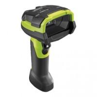 Robuster 1D Barcode Handscanner GUN Zebra LI3608-SR, 1D, SR, Multi-IF, Kit (USB), schwarz/grün