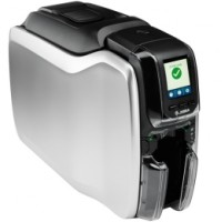 Schneller Kartendrucker Zebra ZC300, einseitig, 12 Punkte/mm (300dpi), USB, Ethernet, Display, Contact, Contactless