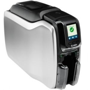 Zebra ZC300, einseitig, 12 Punkte/mm (300dpi), USB, Ethernet, MSR, Display, beidseitiger Kartendruck