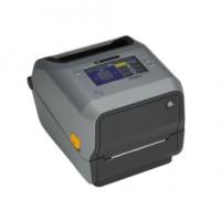 Thermodirekt Etikettendrucker Zebra ZD621d, 12 Punkte/mm (300dpi), Cutter, linerless, RTC, USB, USB-Host, RS232, Bluetooth (BLE), Ethernet, Real Time Clock, Black Mark Sensor, Gap Sensor