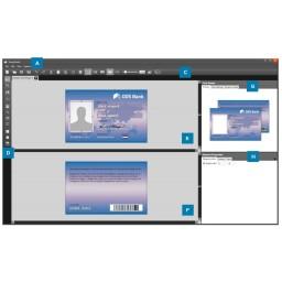 Zebra CardStudio 2.0 Upgrade, von Classic auf Enterprise, physische Lizenz-Karte