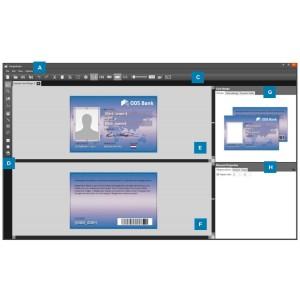 Zebra CardStudio 2.0 Standard, Digitale Lizenz, Kartendruckersoftware als Downloadversion