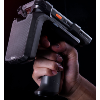Sunmi UHF Pistolengriff, RFID (UHF) RFID Lese-/Schreibgerät, UHF (865-868MHz), Leserate: 200 Tags/Sek., IP65, inkl.: Akku (3350 mAh), passend für: L2K