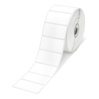 Zebra Z-Ultimate 3000T, Etikettenrolle, Kunststoff (Polyester), glänzend, 102x70mm Kern: 25,4mm, Durchmesser: 127mm, Maße (BxH): 102x70mm, 1140 Etiketten/Rolle