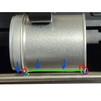 Modifikationen für den AP36Xe, Neue Spindel, Fräsung Metall und Kunststoff, Anpassung für Kunden, Nicht Retournierbar