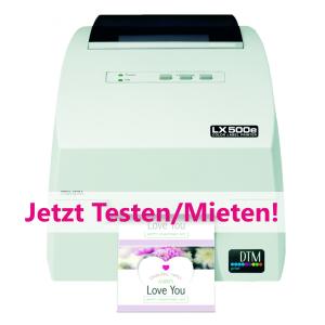*Service* Farbetikettendrucker Primera LX500e mieten