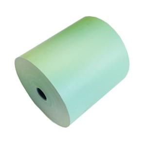 Grüne Thermorollen , Kassen- Bonrollen 80mm/80m/12mm, 30 Rollen in der VPE, Bisphenol A frei, Altpapier fähig