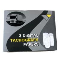 *TOPP-PREIS pro Rolle!!* Digitale Tachografenrollen für Busse und LKWs 57mm/28mm AD/8mm Kern, 8m lang mit Druck, 60er VPE (20 Boxen a 3 Rollen)