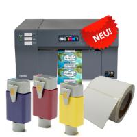Gefahrgut-Etiketten BS5609  Set 1: LX3000e Farbetikettendrucker, Patronensatz und passende BS-zertifizierte Etiketten