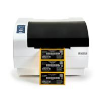 """Catalyst V8 Etikettendrucker mit Lasermarkierung - doppelt so schnell wie das V4-Modell, druckt in ca. 13 Sekunden ein 101,6 (4"""") x 25,4 (1"""") großes Etikett, für langlebige Barcode Etiketten"""