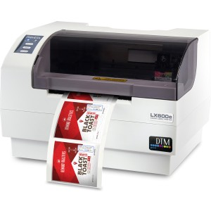 Primera LX600e kompakter Farb-Etikettendrucker bis 12,7cm breite Farbetiketten, inklusive 30 Minuten Video - Schulung