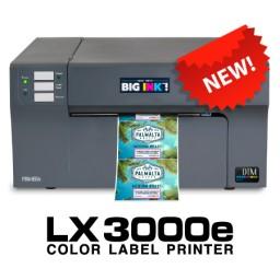 Primera LX3000e Farbetikettendrucker mit 1 Mehrzweck-Druckkopf + separater CMY-Dye Tinte, USB, Netzwerk inkl. 60 Minuten Online Schulung, 3 jahre Garantie*