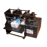 Flat-Matic Etikettierer - Applikator, halbautomatischer Etikettenspender mit Fließband für Boxen und Tüten, 152mm breite Produkte