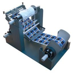 MX-12 Entgitter-Einheit für Etikettenschnitt und Matrixentfernung