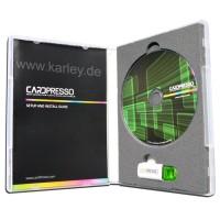 CardPresso XXS Kartendrucker Software, Design Druck und Barcodes einfach erstellen