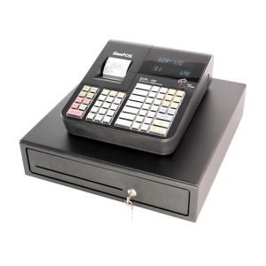 SAMPOS ECR-120 Elektronische Registrierkasse für GdPdU konforme Kassenvorgänge TSE fähige 2020 Version mit großer Schublade