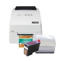 Barcode-Set 2 (farbiger Druck) - Inkjet Etikettendrucker LX500 mit passenden Etiketten und einer Patrone
