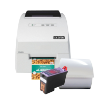 Imkerei Set 2 - Inkjet Etikettendrucker LX500 mit passenden Etiketten und einer Patrone  für farbige Etiketten