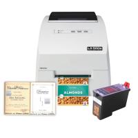 Weinflaschen Set 2 - Inkjet Etikettendrucker LX500 mit passenden Vintage Etiketten und einer Patrone