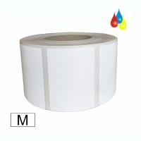Dry Toner Etikettenrolle Papier matt 126mm x 130m (BxL), Kern: 76mm (3'') AD: 20,3cm (8'') für OKI Pro 1040 / 1050 & QL-300S Laser, 1250 Etiketten/Rolle