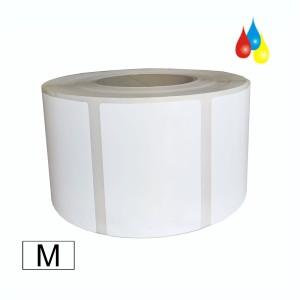 DryToner Papier matt Natur Etiketten 76mm x 102mm (BxH), Kern: 76mm (3'') AD: 15,24cm (6'') für DTM CX86e