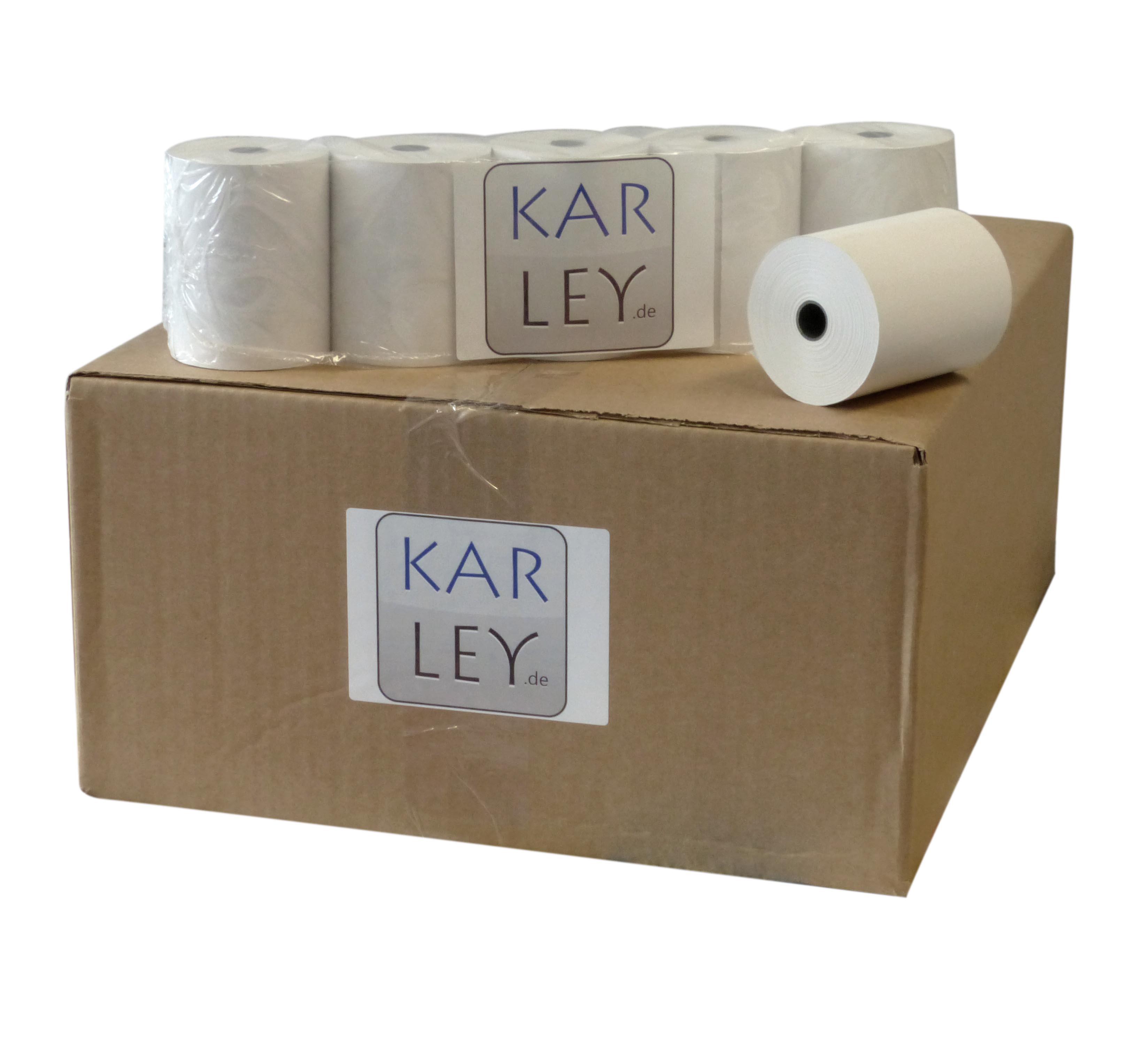 Karley Bonrolle, Normalpapier, 114mm 45001-40700